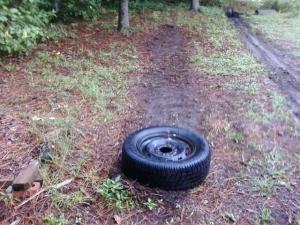 The Sledgehammer Tire Whack Track