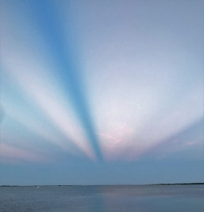 west sunrise vertical